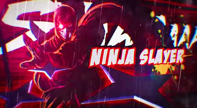 Screen Capture of Ninja Slayer Trailer video (below)