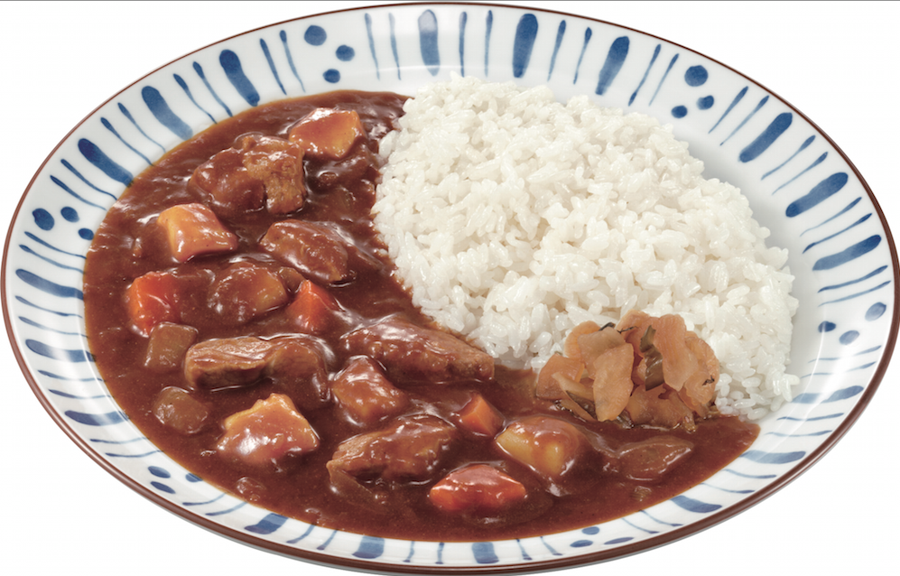 Sukiya Curry rice