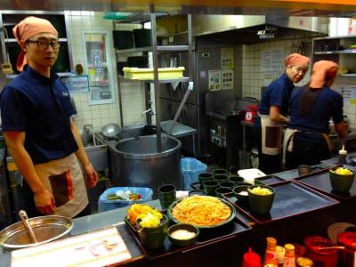 Clean Kitchen at Yude Taro