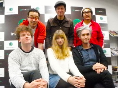 Ringo Deathstarr on WTF? on InterFM 897 Tokyo, Japan Dec. 13, 2015