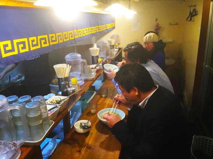 tokyo ramen customers