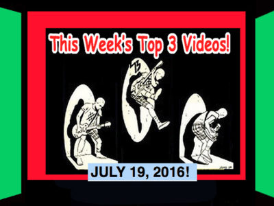 Top 3 Videos for July 19, 2016! The Mirror Trap, Black Honey, The Coathangers!