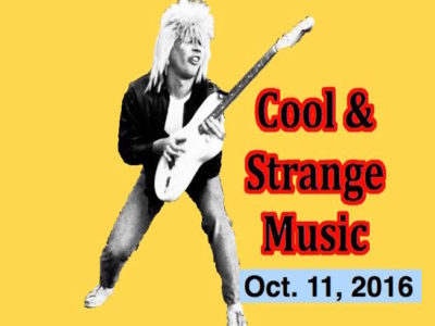 Cool & Strange Music for Oct. 11, 2016! Brian Wilson & The Stooges! Blaas of Glory, Tina S!