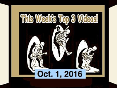 Top 3 Videos for Oct. 2, 2016! Dwarf! Sandinistas! Pats Pats (Japan), The Coathangers!