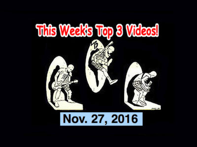 Top 3 Indies Artist Videos for Nov. 27, 2016! Flyying Colours! The Regrettes, The Future Babes, Twinkle Twinkles (Japan)!