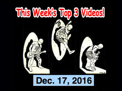 Top 3 Indies Artist Videos for Dec. 18, 2016! Louise Distras, The Spitfires, Warbly Jets, Stephanies (Japan)!