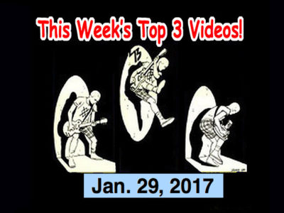 Top 3 Indies Artist Videos for Jan 29, 2017! Pint Shot Riot, Lola Dutronic, David & the Curse, Molice (Japan!)