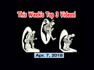 Top 3 Indies Videos 4/7/18! DOG PARTY NEW VIDEO WORLD PREMIERE! Amyl & the Sniffers, Darky Dark & The Junkie Bunch & the Walkings (Jpn)!