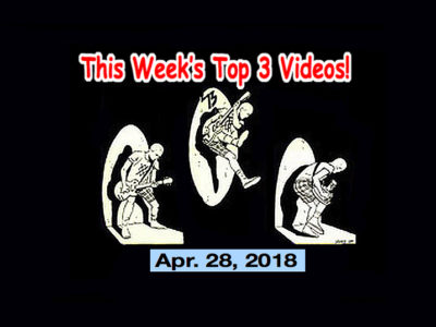 Top 3 Indies Videos 4/28/18! The Surfrajettes, Faz Waltz, Kyle Falconer, the Neatbeats!