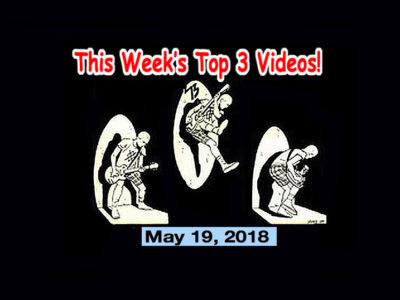 Top 3 Indies Videos 5/19/18! The Soapgirls, Jail Guitar Doors (Jpn), Honeychain, Dumbleachers!