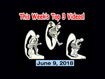 Top 3 Indies Videos 6/9/18! Samurai Attack!, Wilko Johnson, Lucy & the Rats, James Williamson & the Pink Hearts